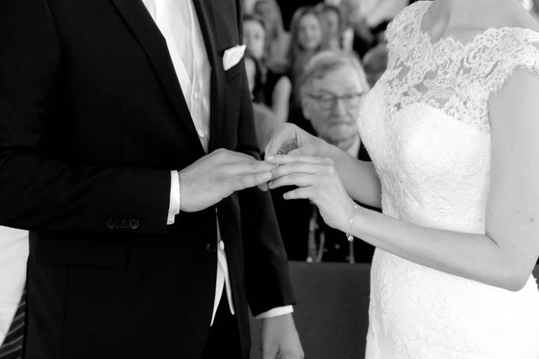 Standesamt Leinfelden Hochzeit Ringwechsel