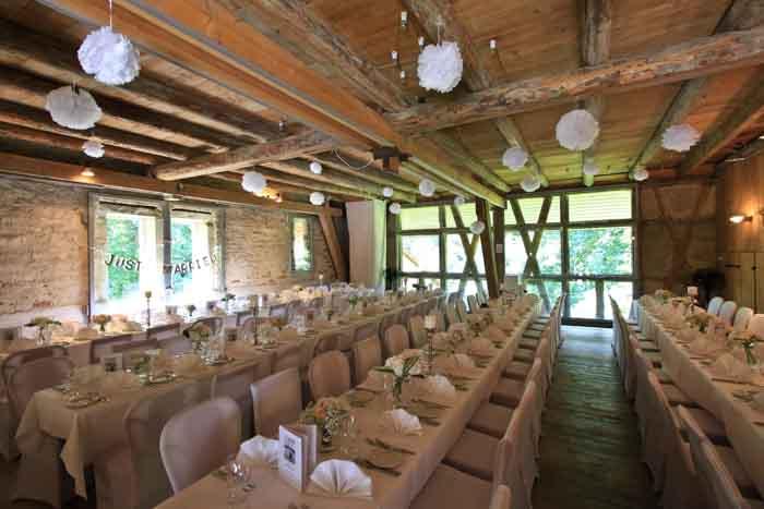 Weingut Graf Adelmann Hochzeitsfeier