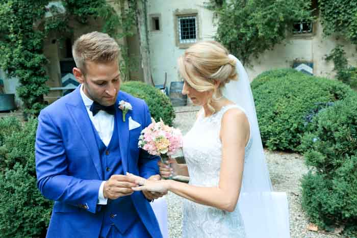Hochzeitsfeier Weingut Graf Adelmann