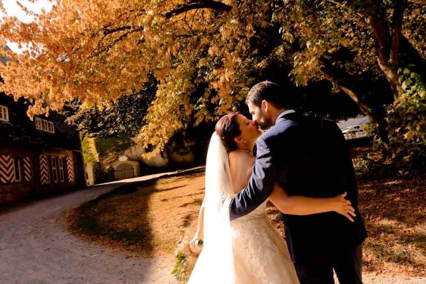 Schloss Heinsheim Hochzeit Herbst